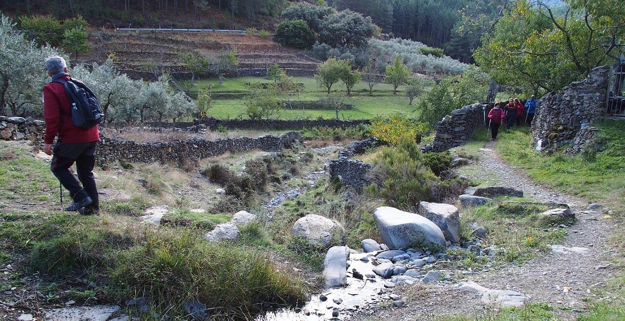Ruta senderismo Valle del Esperabán en Pinofranqueado, Las Hurdes
