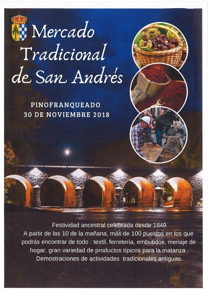 Mercado de San Andrés en Pinofranqueado, Las Hurdes