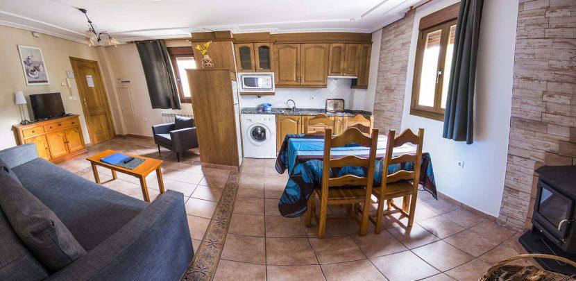 Apartamentos con chimenea en Pinofranqueado, Las Hurdes