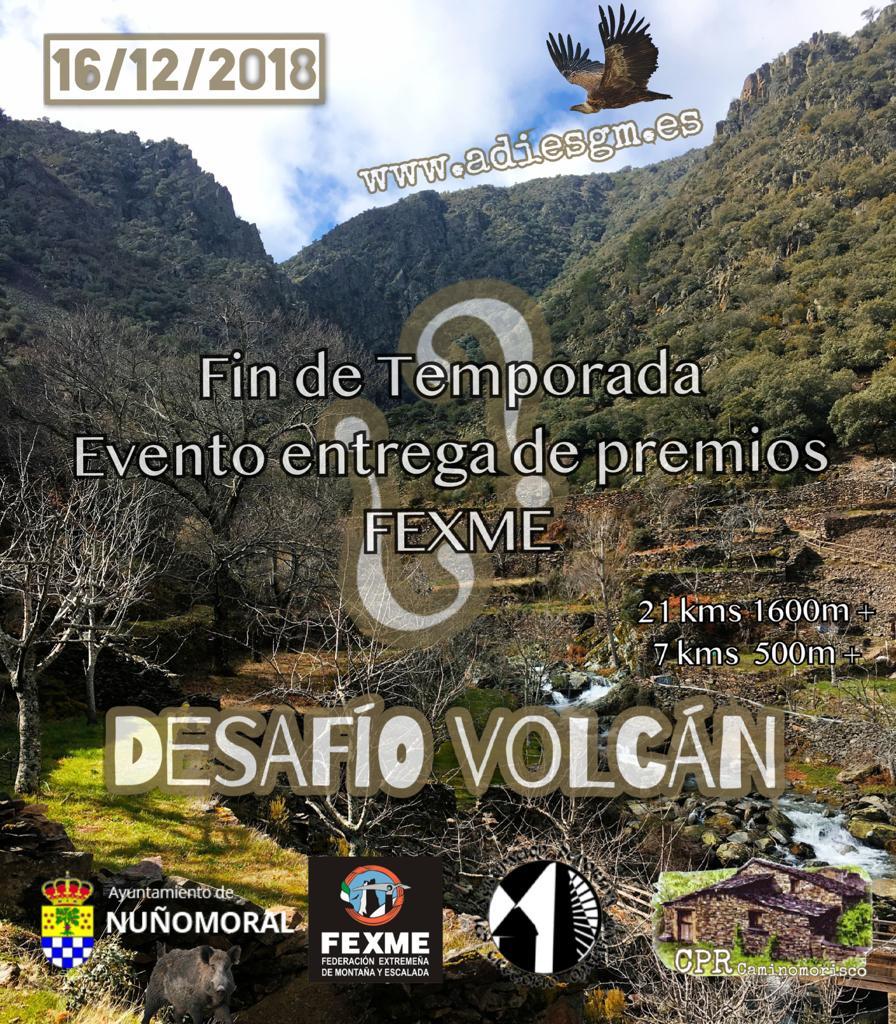 Carrera por montañas de Extremadura