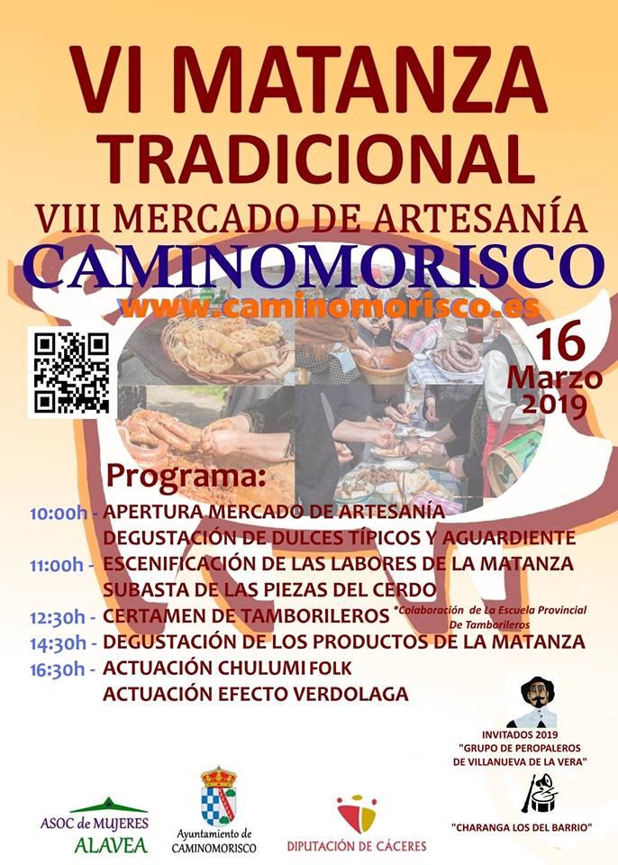 Matanza tradicional en Caminomorisco, Las Hurdes