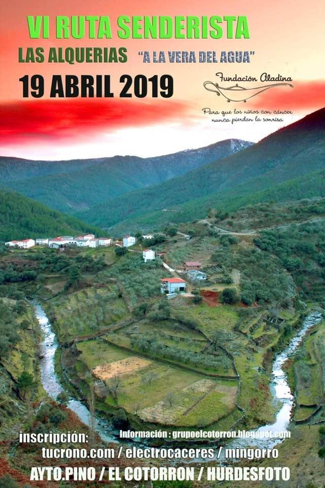 """VI Ruta senderismo """"Las Alquerías"""" en Pinofranqueado"""