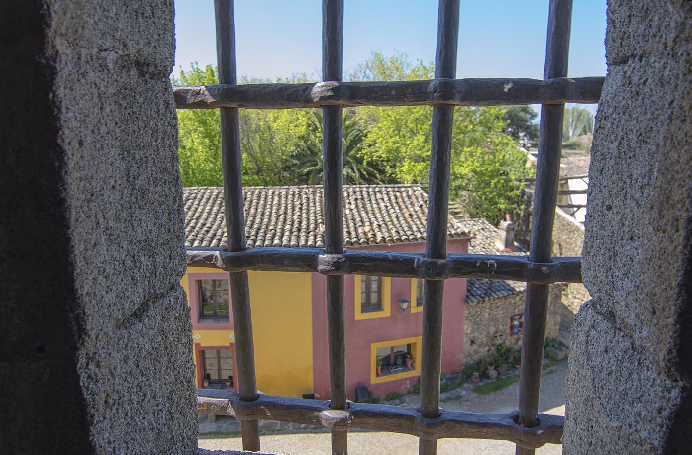 Vistas desde el interior del castillo