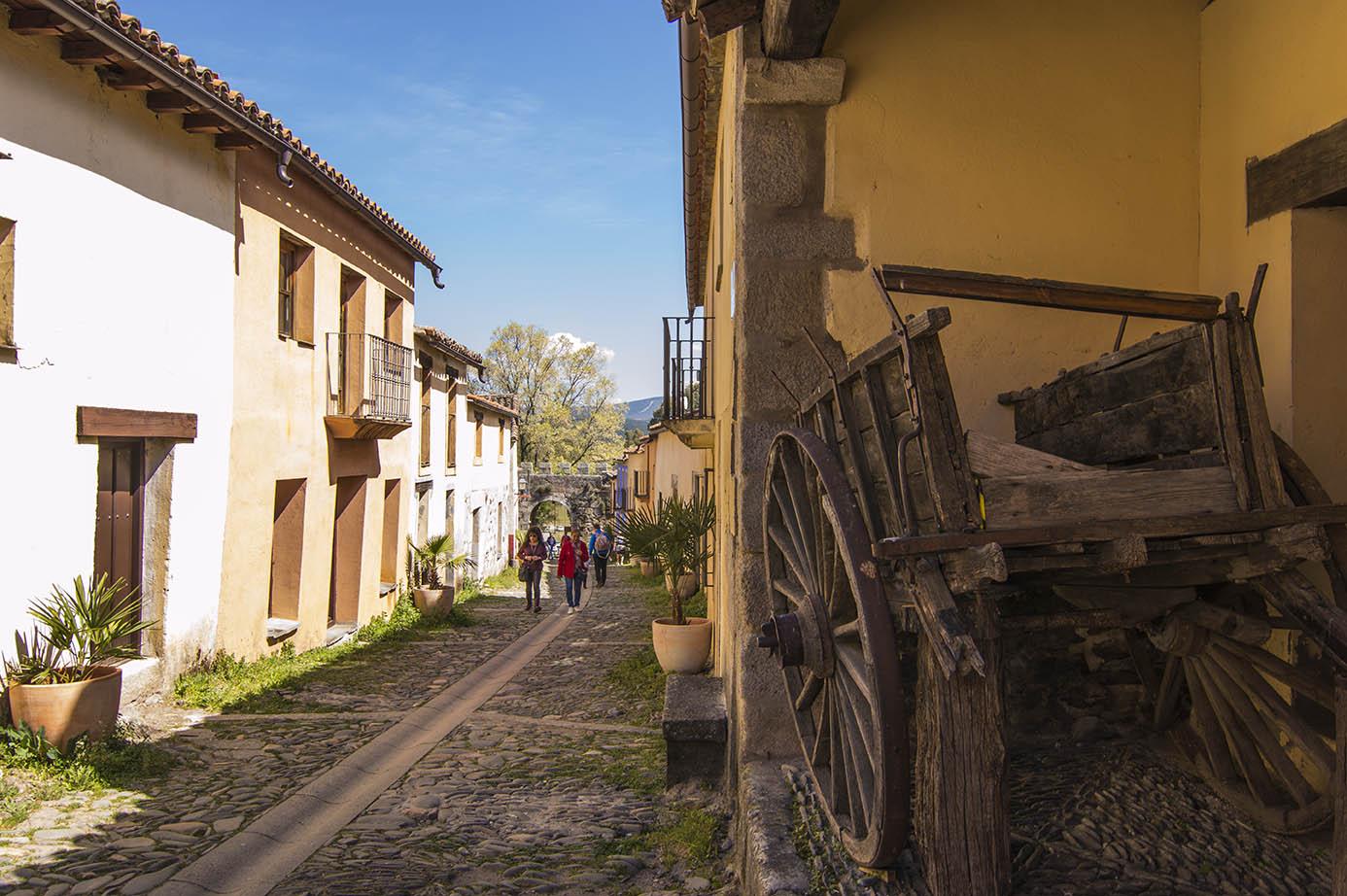 Calle empedrada de Granadilla