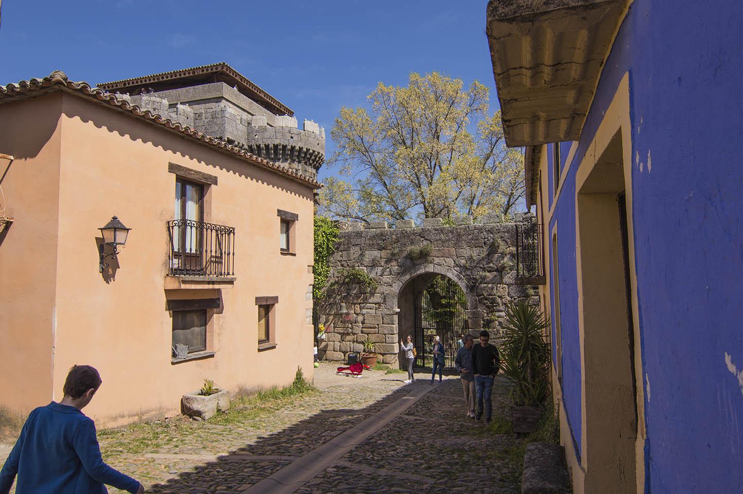 Puerta de entrada a Granadilla