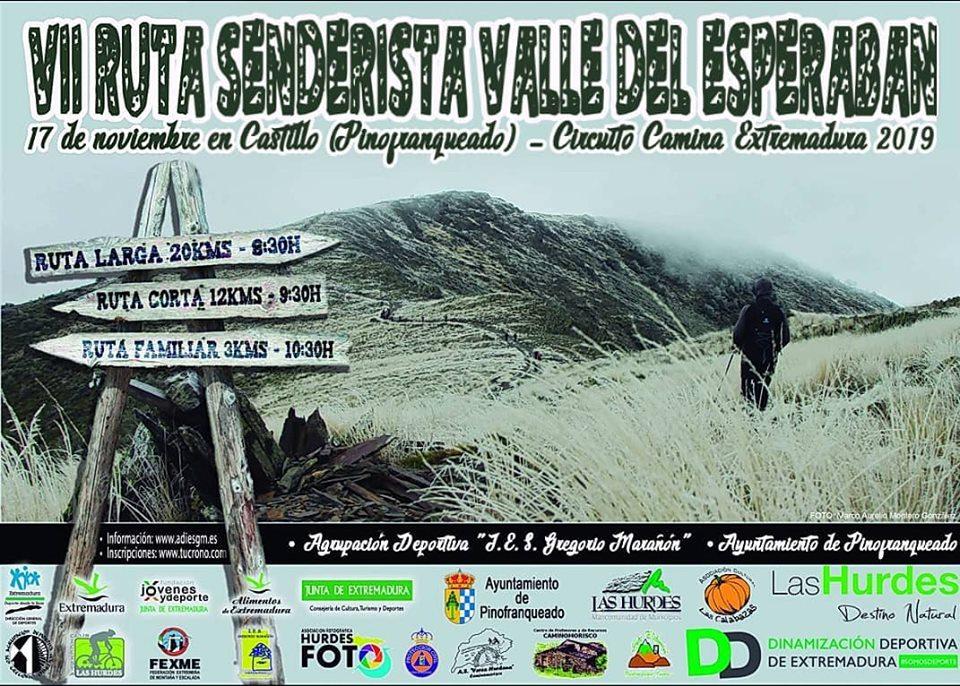 VII ruta de senderismo Valla del Esperabán