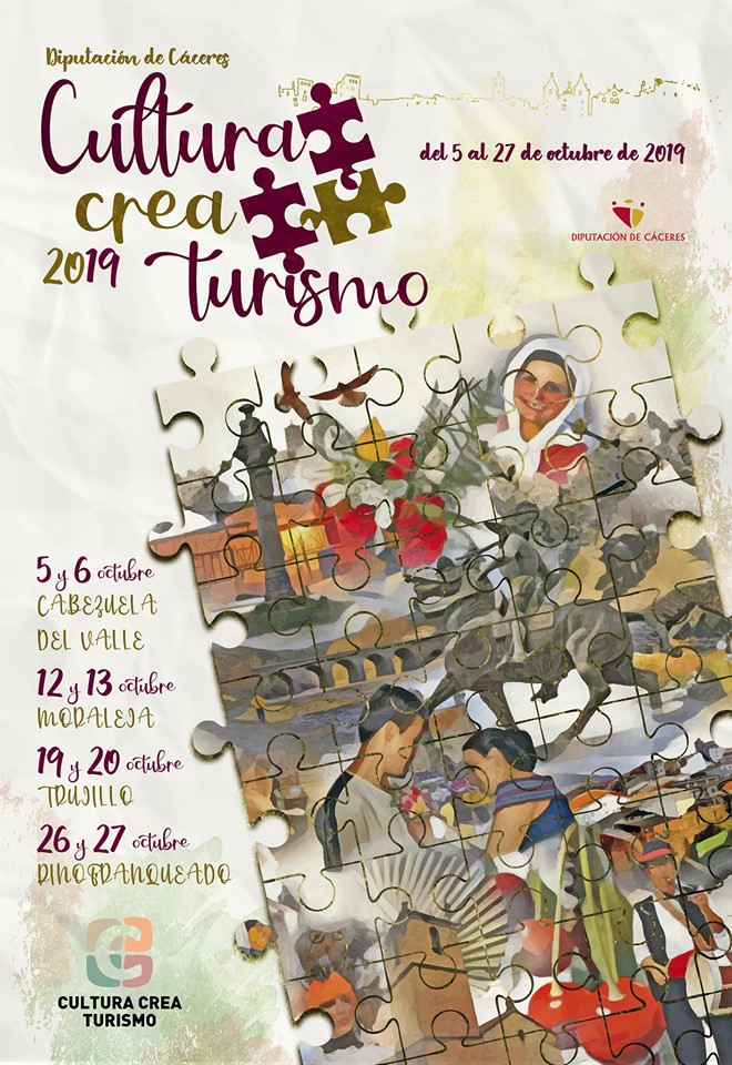Cultura Crea Turismo, 26 y 27 de octubre en Pinofranqueado
