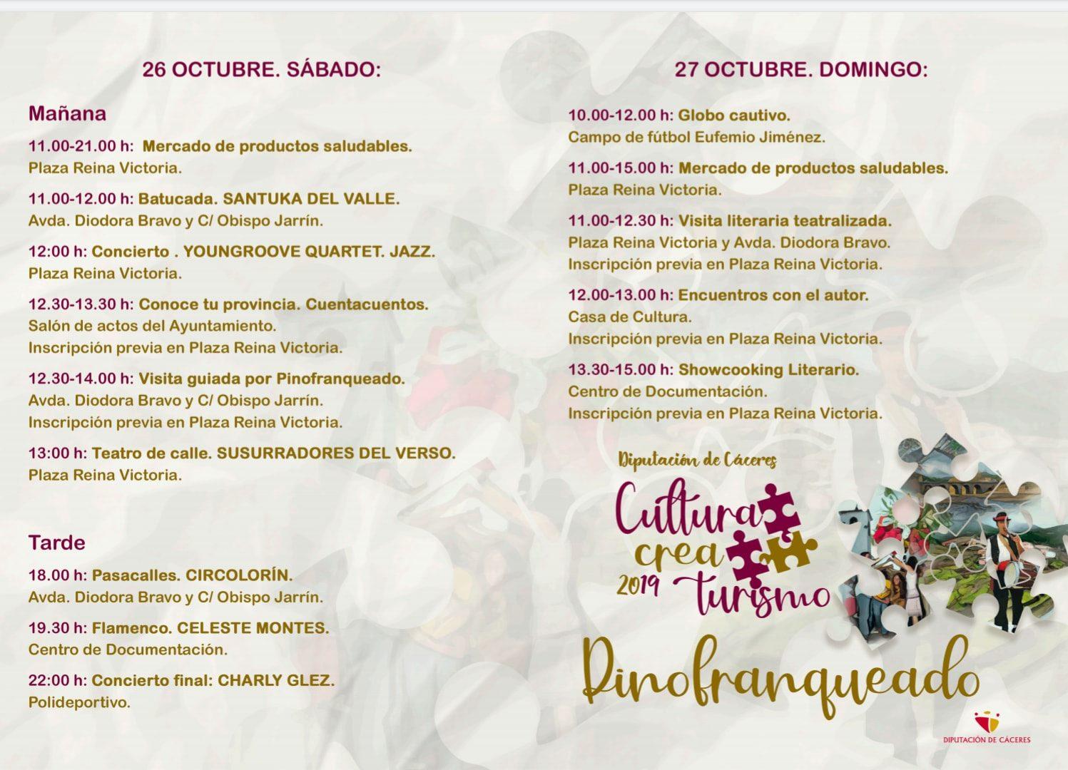 Programa Cultura crea turismo en Pinofranqueado