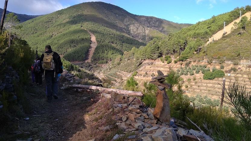 VII Ruta senderismo Valle del Esperabán, el 17 de noviembre en Castillo (Pinofranqueado)