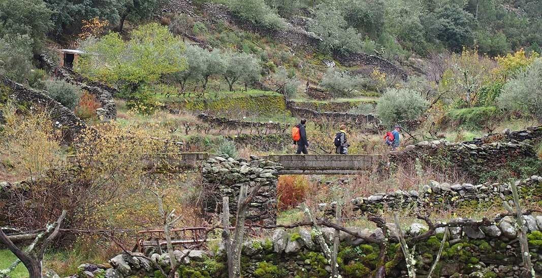 """Ruta senderismo """"Valle del Esperabán"""" en Las Hurdes"""