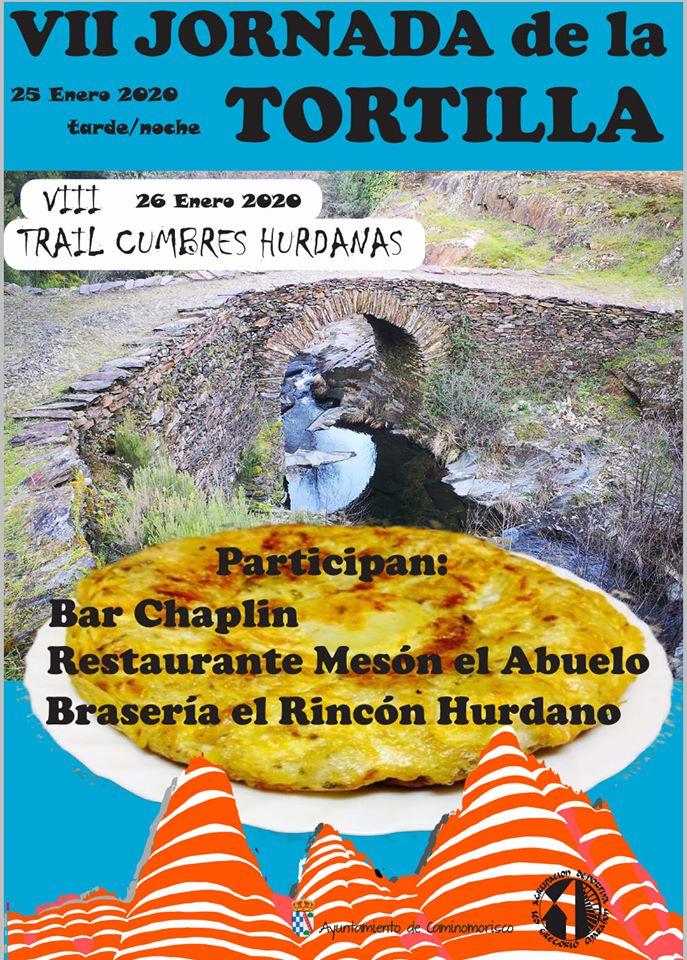 VII Jornada de la tortilla, actividad paralela a VIII Trail Cumbres Hurdanas
