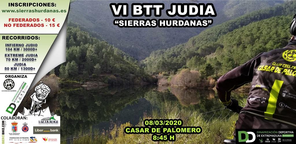 VI BTT Judía Sierras Hurdanas