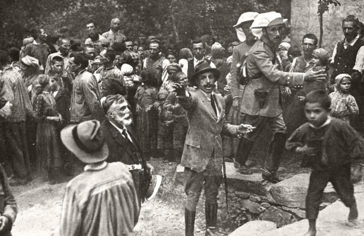 El Rey Alfonso XIII en su visita a Las Hurdes en 1922