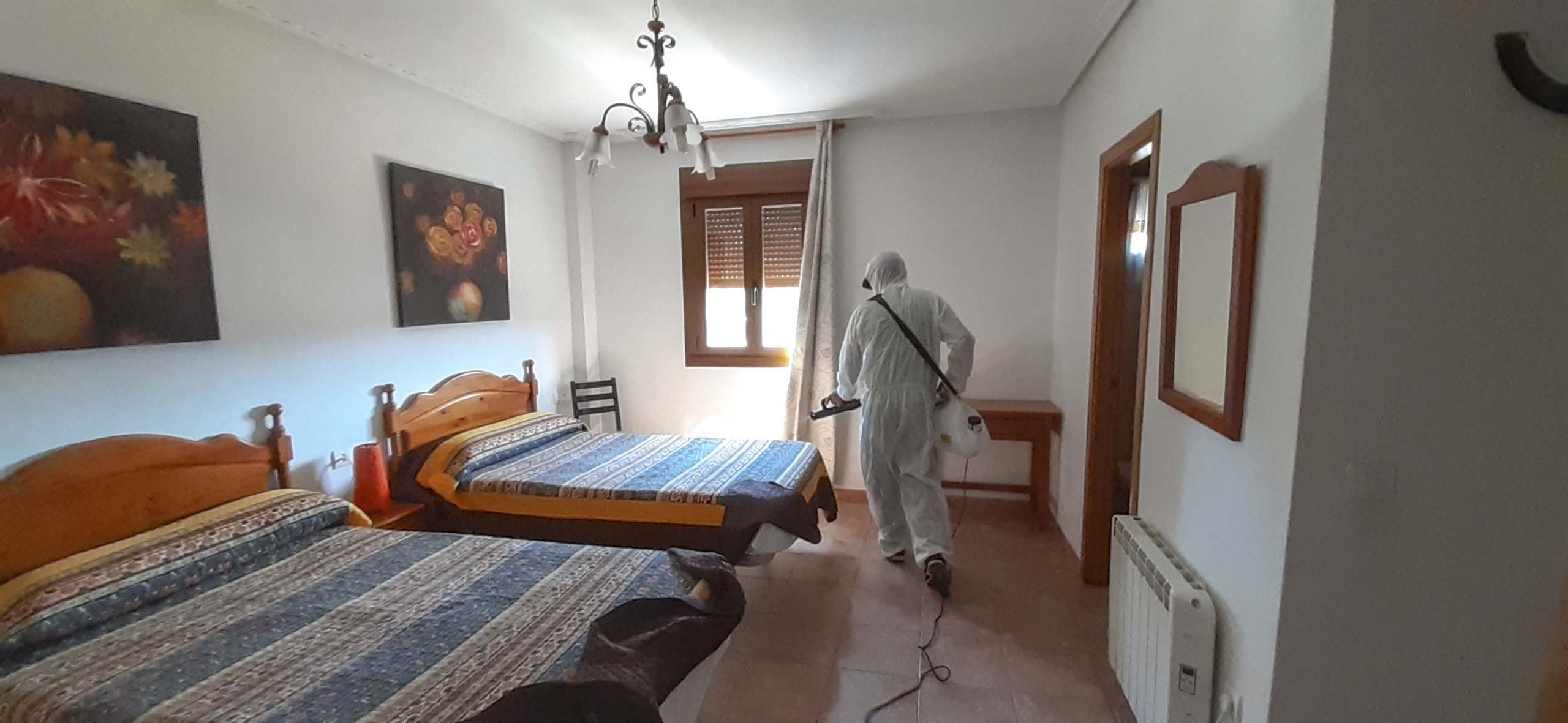 Desinfección Apartamentos Rurales El Prado