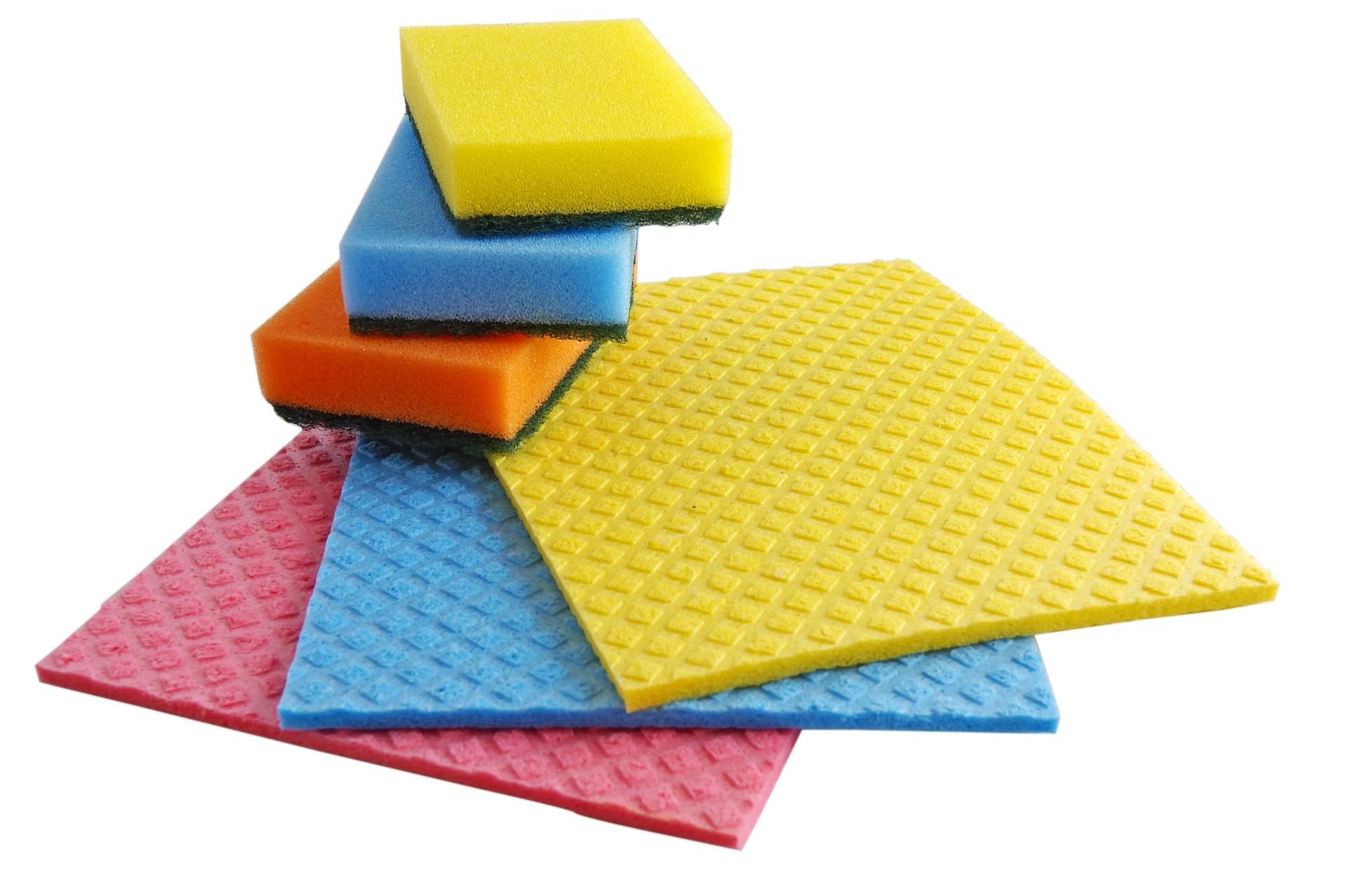 Usamos bayetas de colores para evitar la contaminación cruzada